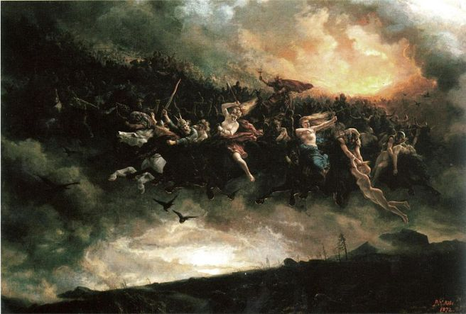 La Cacera infernalAsgårdsreien1872de Peter Nicolai Arbo